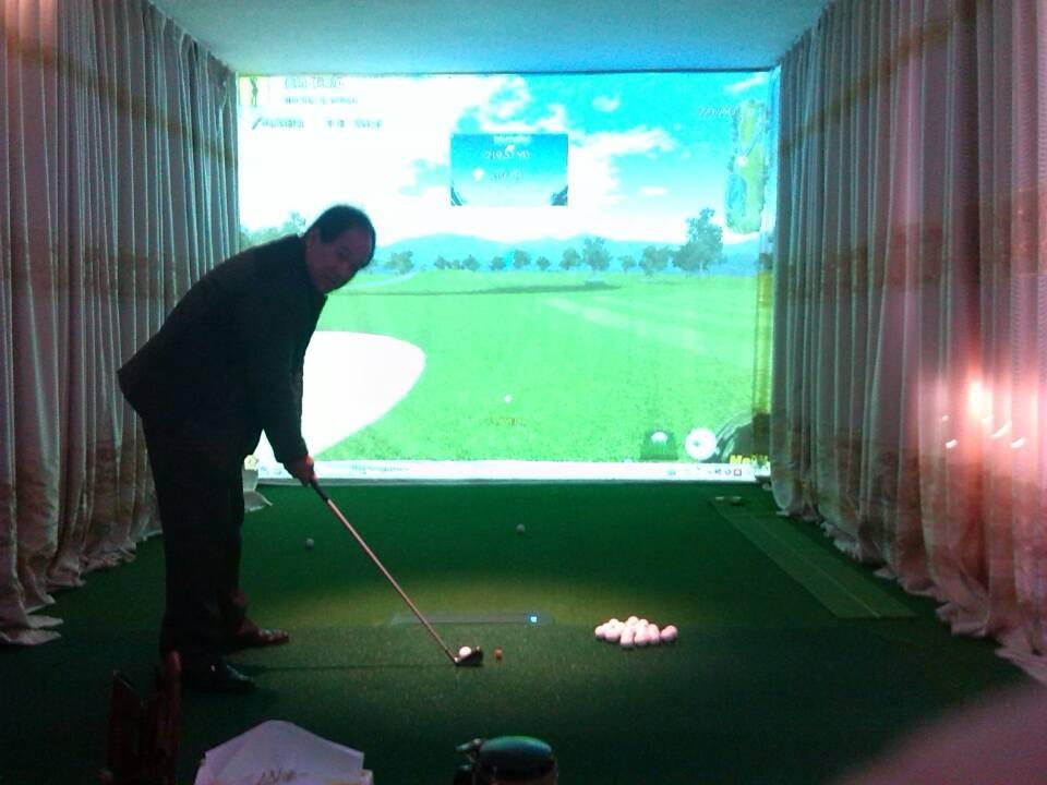 室内高尔夫模拟器,国际新潮流