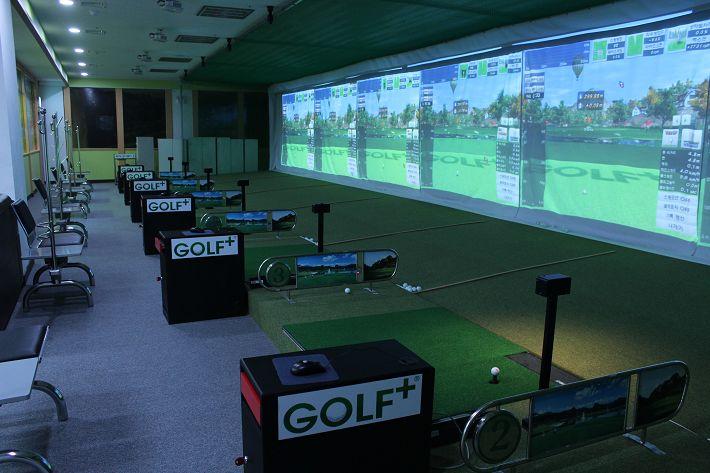 室内模拟高尔夫练习场